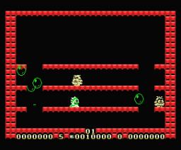 Super Bubble Bobble (1989, MSX, Zemina)