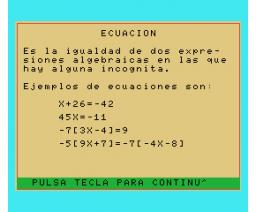 Matemáticas (MSX, Microgesa)