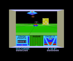 Red Zone (1985, MSX, Yellow Horn)