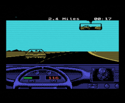 Test Drive II - The Duel (1989, MSX, New Frontier)
