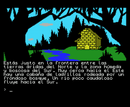 Aventura Original, La (1989, MSX, Aventuras AD)