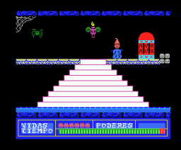 Devil's Castle, The (1985, MSX, Manhattan Transfer)