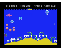 Sea Bomber (1983, MSX, Hudson Soft)