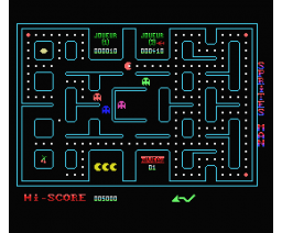 Sprites Man (1984, MSX, Sprites)