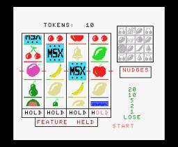 Fruit Machine (1985, MSX, DK´Tronics)