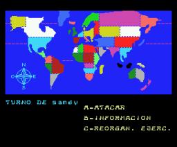 Final War (1988, MSX, Alfredo Delgado)