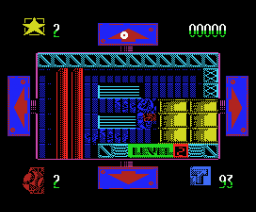 Cosmic Sherif (Gunstick version) (1989, MSX, Dinamic)