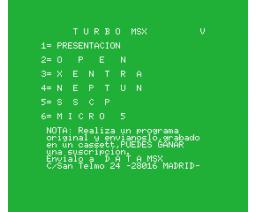 Turbo MSX Ano.2 Vol.5 (MSX, GEASA)