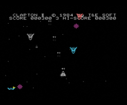 Battle Ship Clapton II (1983, MSX, T&ESOFT)