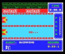 Brian Jacks Superstar Challenge (1986, MSX, Martech Games)