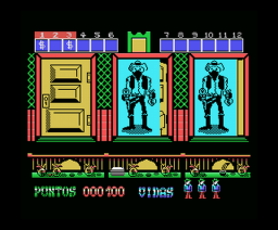West Bank (1989, MSX, Dinamic)