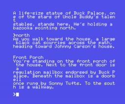 Hollywood Hijinx (1986, MSX, Infocom)