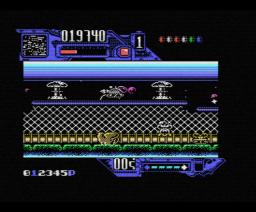 Comando Tracer (1989, MSX, Dinamic)