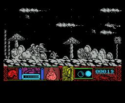 Sol Negro (1989, MSX, Opera Soft)