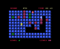 Kick It! (1986, MSX, Aackosoft, The Bytebusters)