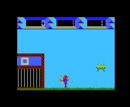 Captain Cosmo (1984, MSX, NEXA)