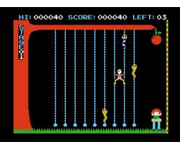 HELP! (1983, MSX, Hudson Soft)