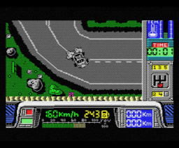 París-Dakar (1988, MSX, Made in Spain)