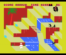 Congo bongo (1983, MSX, Sega)