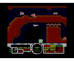 Fire Hawk: Thexder - The Second Contact (1989, MSX2, Game Arts)