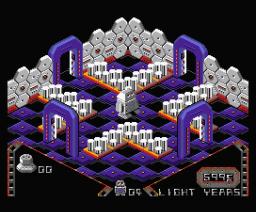 Alien 8 (2008, MSX2, Manuel Pazos, LordFred)