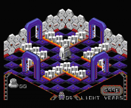 Alien 8 Remake (2008, MSX2, Manuel Pazos, LordFred)
