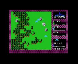 Hydlide (1985, MSX, T&ESOFT)