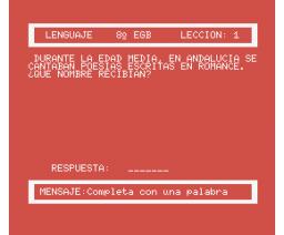 Lenguaje 8 EGB (1985, MSX, Santillana)