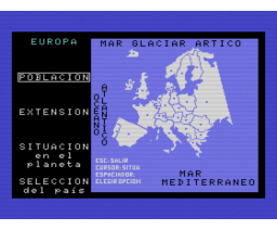 Geografia Universal 1 (Europa/Africa) (1986, MSX, DAI)