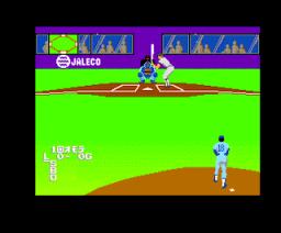 Nettou Baseball'88 (1988, MSX2, Jaleco)