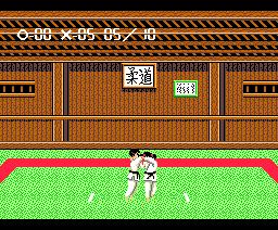 Nekketsu Judo (1989, MSX2, Pony Canyon)