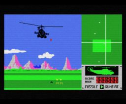 Battle Chopper (1985, MSX, Methodic Solutions)