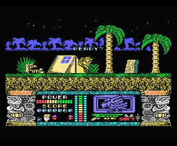 Jungle Warrior (1990, MSX, Zigurat)