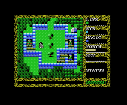 Hydlide 2 - Shine of Darkness (1986, MSX, T&ESOFT)