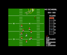 10 Yard Fight (1986, MSX, IREM)