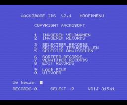 AackobaseII (1985, MSX, The Bytebusters)