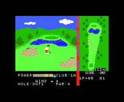 Casio World Open (1985, MSX, Casio)