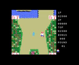 Top Roller (1984, MSX, Jaleco)