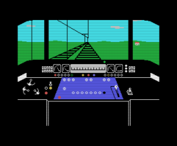 The Train Game (1986, MSX, The Bytebusters)