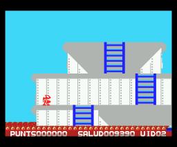 Cosme Estible (1988, MSX, Genesis Soft)