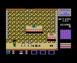 Bouken Roman (1986, MSX, System Soft)