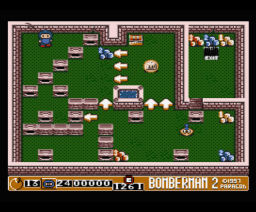 Bomberman 2 (1997, MSX2, Paragon Productions)