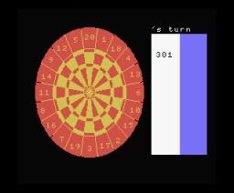 Darts (1984, MSX, Orpheus)