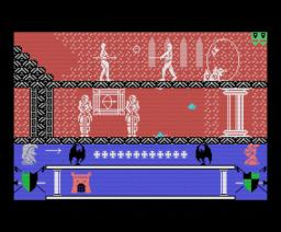 Krom, El Guerrero Invencible (1989, MSX, OMK Software)