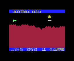 Scramble Eggs (1983, MSX, Ample Software)