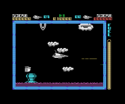 Cyberun (1986, MSX, Ultimate Play The Game)