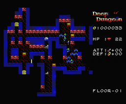 Deep Dungeon (2008, MSX, Trilobyte)