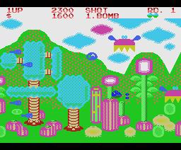 Fantasy Zone (1987, MSX, Sega)