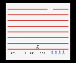 Pepe Saltarín (1986, MSX, Genesis Soft, A.G.D.)