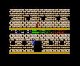 Super Runner (1987, MSX2, Pony Canyon)